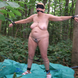 Tied And Gagged - Big Tits, Mature, Nature, BBW