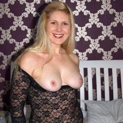 Sexy Blonde Showing Big Tits - Bed, Big Tits, Blonde Hair, Firm Tits, Sexy Body, Sexy Boobs, Sexy Girl, Sexy Lingerie