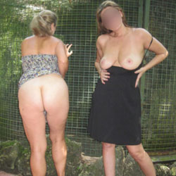 Two MILFS At Park Part 2 - Big Tits