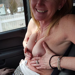 Rode Trip Fun - Public Exhibitionist, Topless Wives