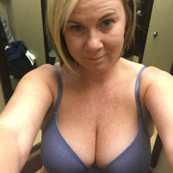 Large tits of a co-worker - Kylie