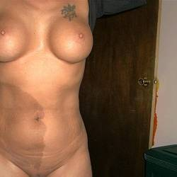 Large tits of my wife - Nancy