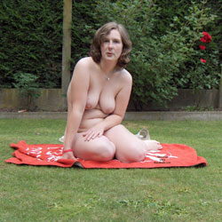 Caught By Our Neighbour ! - Big Tits, Nude Outdoors