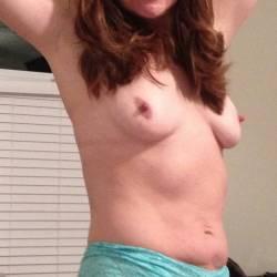 Medium tits of a neighbor - mika