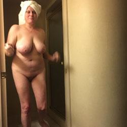 CJ's Birthday - Big Tits, Brunette