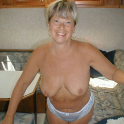 Debbie In Our Travel Trailer - Big Tits, Wife/Wives, Bush Or Hairy