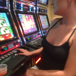Not Dining But How Bout Gambling - Flashing, Public Place