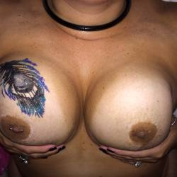 Very large tits of my wife - MsBoo