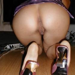 A neighbor's ass - Vecina