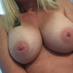 Large tits of my wife - MILF Holly