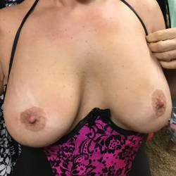 Large tits of my wife - Betty