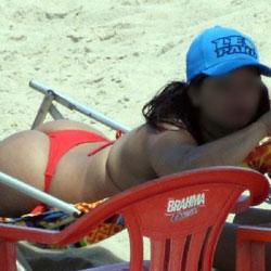 Red Bikini From Recife City, Brazil