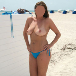 Fun At The Beach  - Big Tits, Beach, Topless Girls