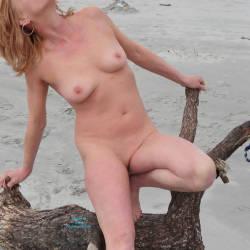 Medium tits of my wife - Tina