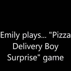 Pizza Delivery Boy Surprise Game - Brunette, Bush Or Hairy