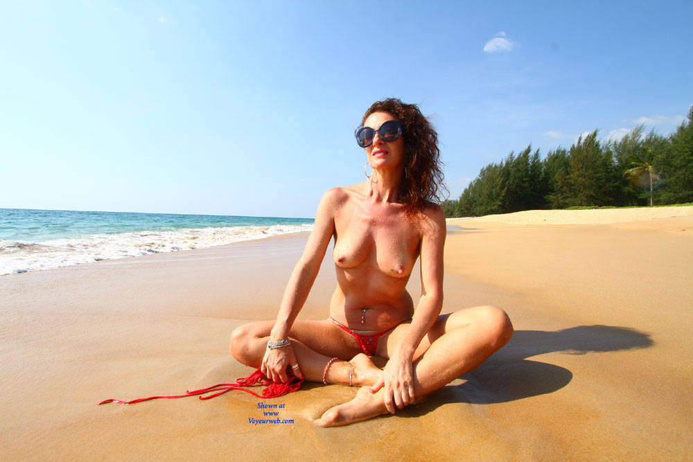 Topless Brunette At The Beach - Bikini, Brunette Hair, Naked Outdoors, Nipples, Nude Beach, Nude In Nature, Nude In Public, Showing Tits, Topless, Beach Tits, Beach Voyeur, Hot Girl, Sexy Body, Sexy Figure, Sexy Girl, Sexy Legs , Nude, Beach, Bikini, Big Tits, Pierced, Sunglasses