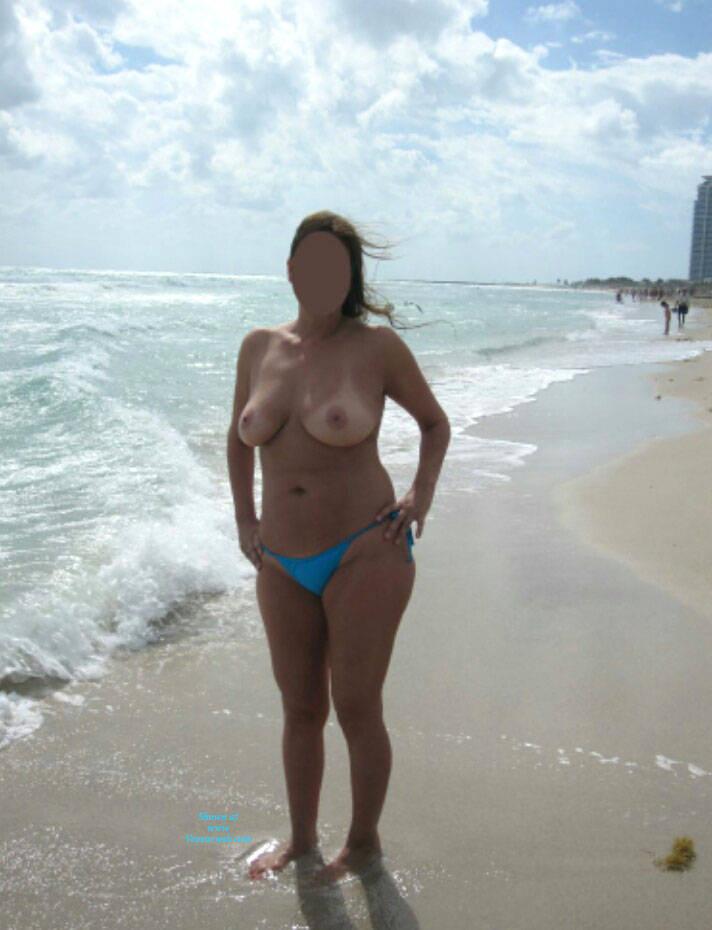 Miami beach tits