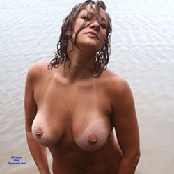 Shoreline Swim - Big Tits