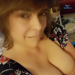 Natural Tits Defying Gravity At 55 - Big Tits, Mature