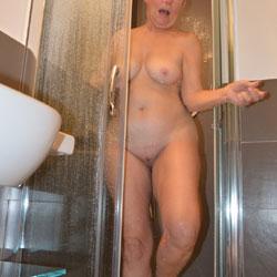 Showering - Big Tits