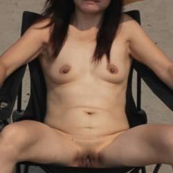 Very small tits of my girlfriend - Irene