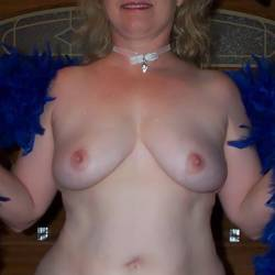 Large tits of a neighbor - Mature Friend