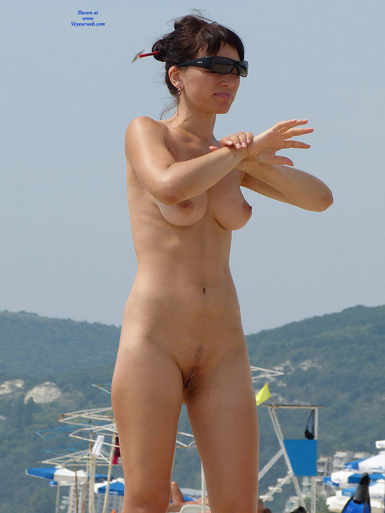 beauty beach nude young couple