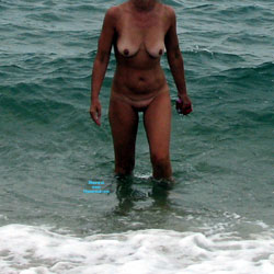Nude On A Melbourne Beach - Beach, Big Tits, Wife/Wives