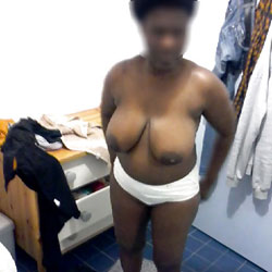 First Try - Big Tits, Ebony