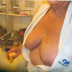 Large tits of my wife - marrrie