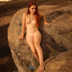 Naked Redhead On The Rocks - Erect Nipples, Exposed In Public, Full Nude, Naked Outdoors, Nipples, Nude In Nature, Nude Outdoors, Perfect Tits, Redhead, Shaved Pussy, Showing Tits, Hairless Pussy, Sexy Body, Sexy Boobs, Sexy Figure, Sexy Girl, Sexy Legs