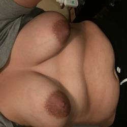 Large tits of my girlfriend - Lizzie