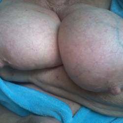 Very large tits of my wife - bigtits