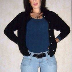 MILF With Amazing Ass In Tight Jeans - Round Ass, Milf Ass