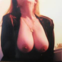 Very large tits of my wife - sandy