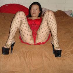 Nude On Bed - Brunette