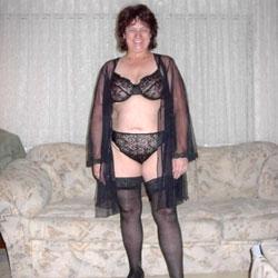 SexKittenKel In Black Stockings PT 2 - Big Tits, Brunette, Lingerie, Bush Or Hairy
