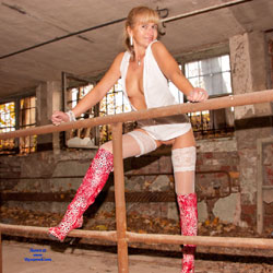 Lost Places - High Heels Amateurs, Lingerie