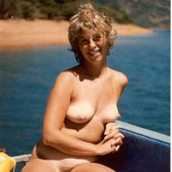 Debbie on Shasta Lake - Big Tits, Outdoors, Wife/Wives