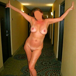 Fun Hotel Flashing  - Big Tits, Flashing, Public Exhibitionist, Public Place