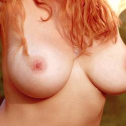 Large tits of my wife - Linda