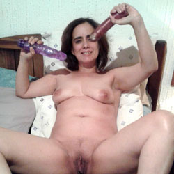 Sex Toy - Bush Or Hairy, Toys, Brunette, Big Tits