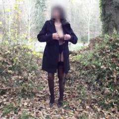 My Wife - Outdoors, Lingerie, High Heels Amateurs, Brunette, Big Tits, Wife/Wives