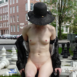 Enjoying Spring - Exposed In Public, Flashing, Nude In Public, Perfect Tits, Shaved