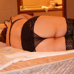 In Hotel Room - Lingerie
