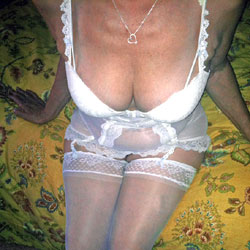 The Sexiest Exhibitionist Over 60 - Lingerie