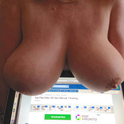 Large tits of my girlfriend - Rose