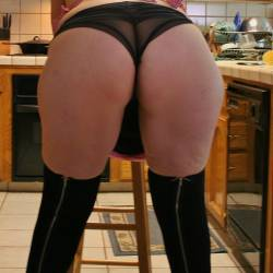 My wife's ass - Steph