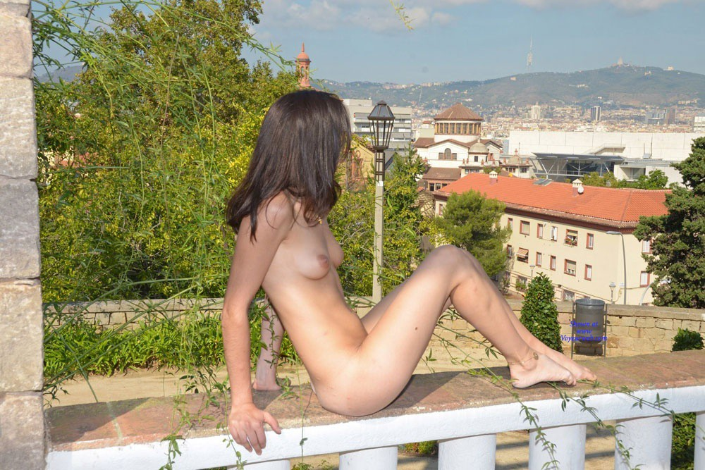 Theatre Park 2 - Brunette Hair, Nude In Public , Still In The Theatre Park ... Just Some Nice Shots