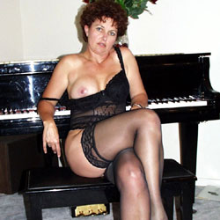 Sexy Stockings - Big Tits, Brunette, High Heels Amateurs, Lingerie